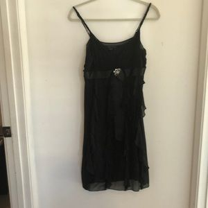 Black cocktail dress. Size 6